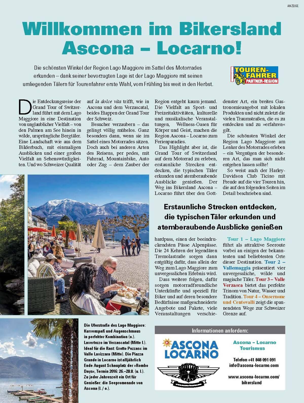 Reise-Reportage aus der TOURENFAHRER Ausgabe 6/2016