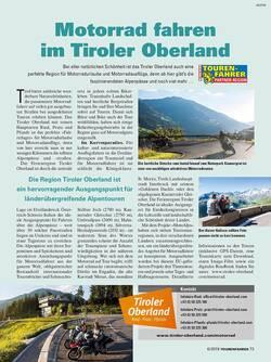 Reise-Reportage aus der TOURENFAHRER Ausgabe 6/2018