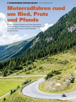 TOURENFAHRER-Partner-Region aus Sonderheft Alpen 1/2019
