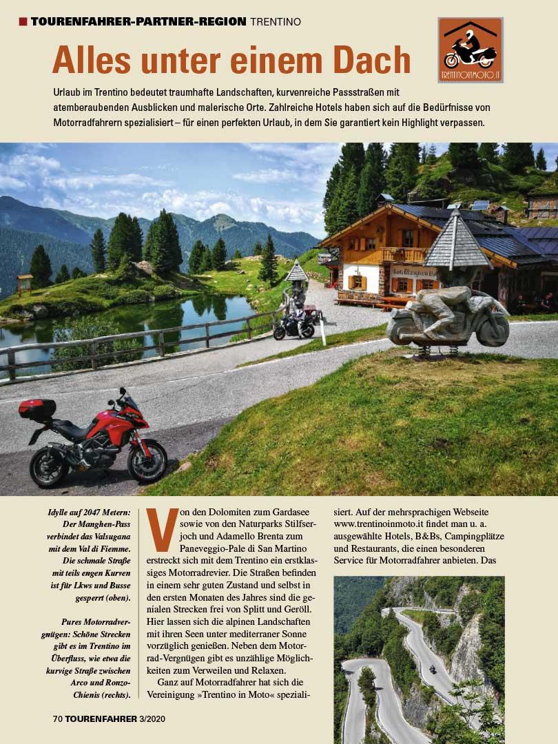 Reise-Reportage aus der TOURENFAHRER Ausgabe 3/2020
